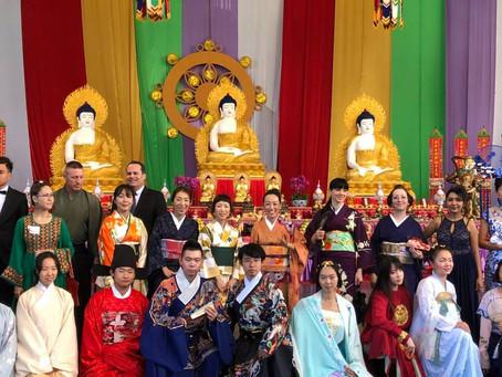 Buddah's Birthday parade
