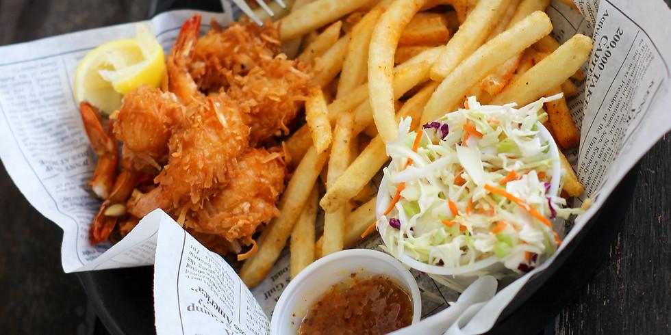 Fish Fry Friday Dinner + prayer