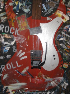Zepplin Red Guitar