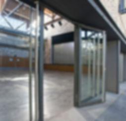 Jansen Steel Folding Steel Ballistic Doors