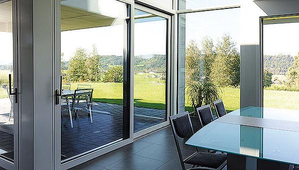 IQ Radiant Thermal Dynamc Doors, featuring Jansen Lift Slide and Swing Doors