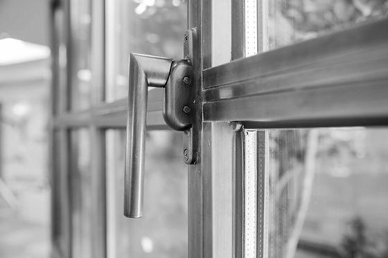 Custom Steel Window Residential Philadelphia Janse IQ Radiant Glass
