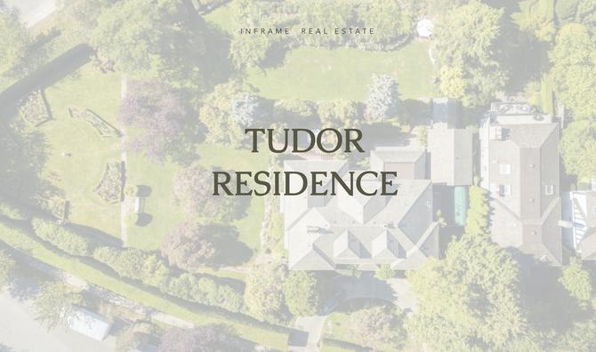 TUDOR RESIDENCE IN SOUTH WEST MARINE Prestigious Neighborhood