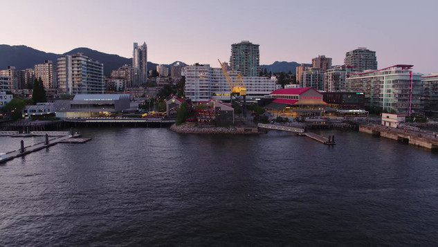 Lonsdale North Vancouver Stock Footage.m
