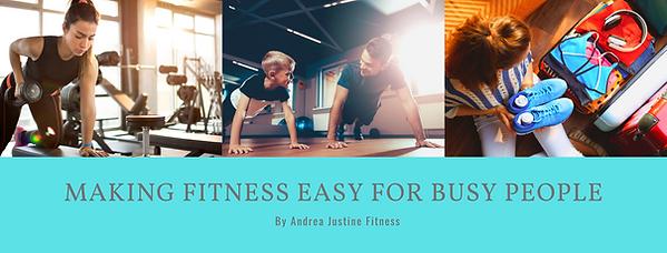 Andrea Justine Fitness Facebook Communit