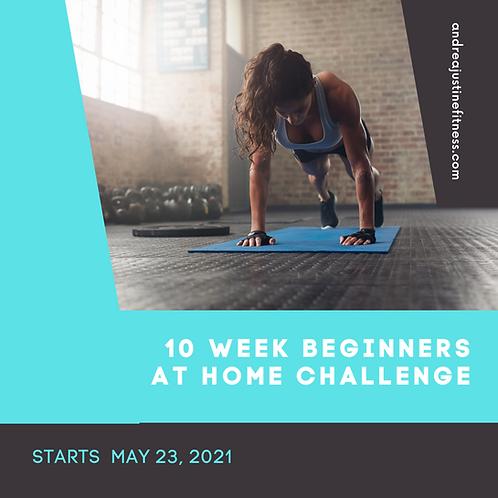 10 Week Beginner At Home Challenge