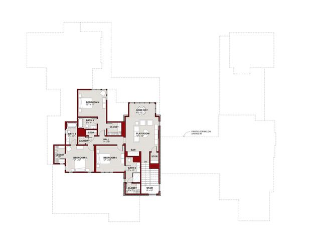 3601 Edgemont Dr Second Floor Plan