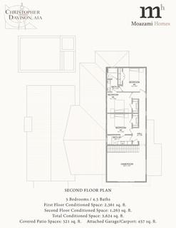 4206 Venado Dr Second Floor Plan