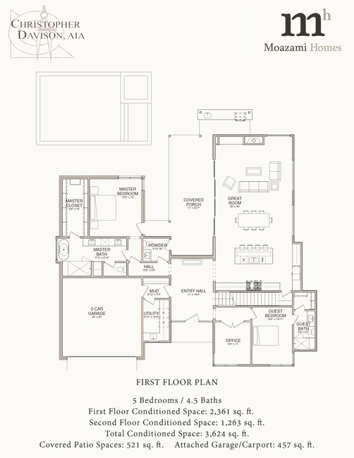 4206 Venado Dr First Floor Plan