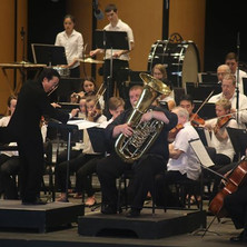 Solo performance of the Vaughan Williams Tuba Concert with the Brevard Music Center Orchestra