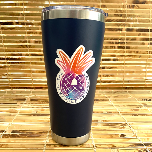 30oz Tumber – Navy with Logo Decal