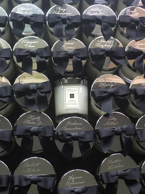 Engraved Jo Malone Candle lids