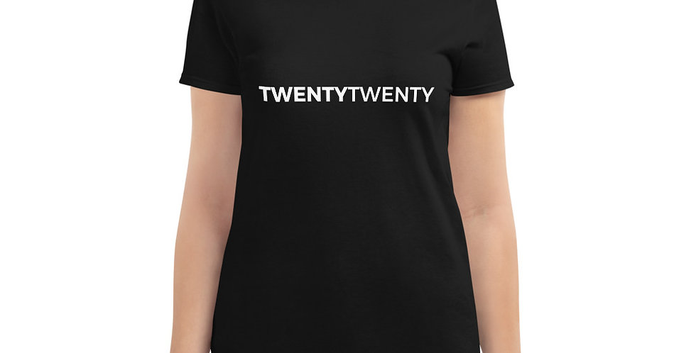 Black t-shirt Twenty Twenty