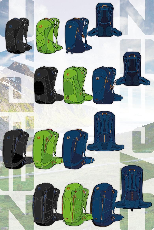 Zeepac outdoor backpacks