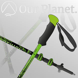 Our Planet Accessories, Ourdoor Walking Pole