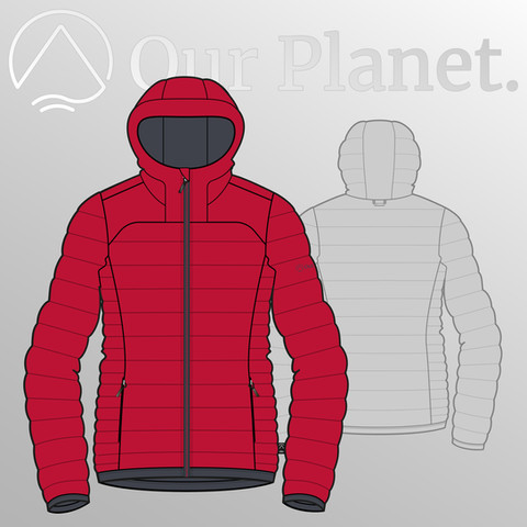 Our Planet Fall Winter 2020 Outdoor Apparel Collection Women