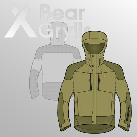 Bear Grylls Fall Winter Outdoor Apparel Collection