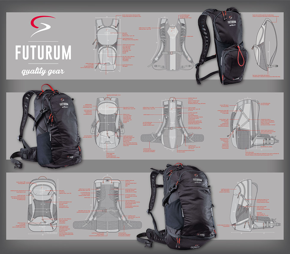 Futurum Cycling Backpacks