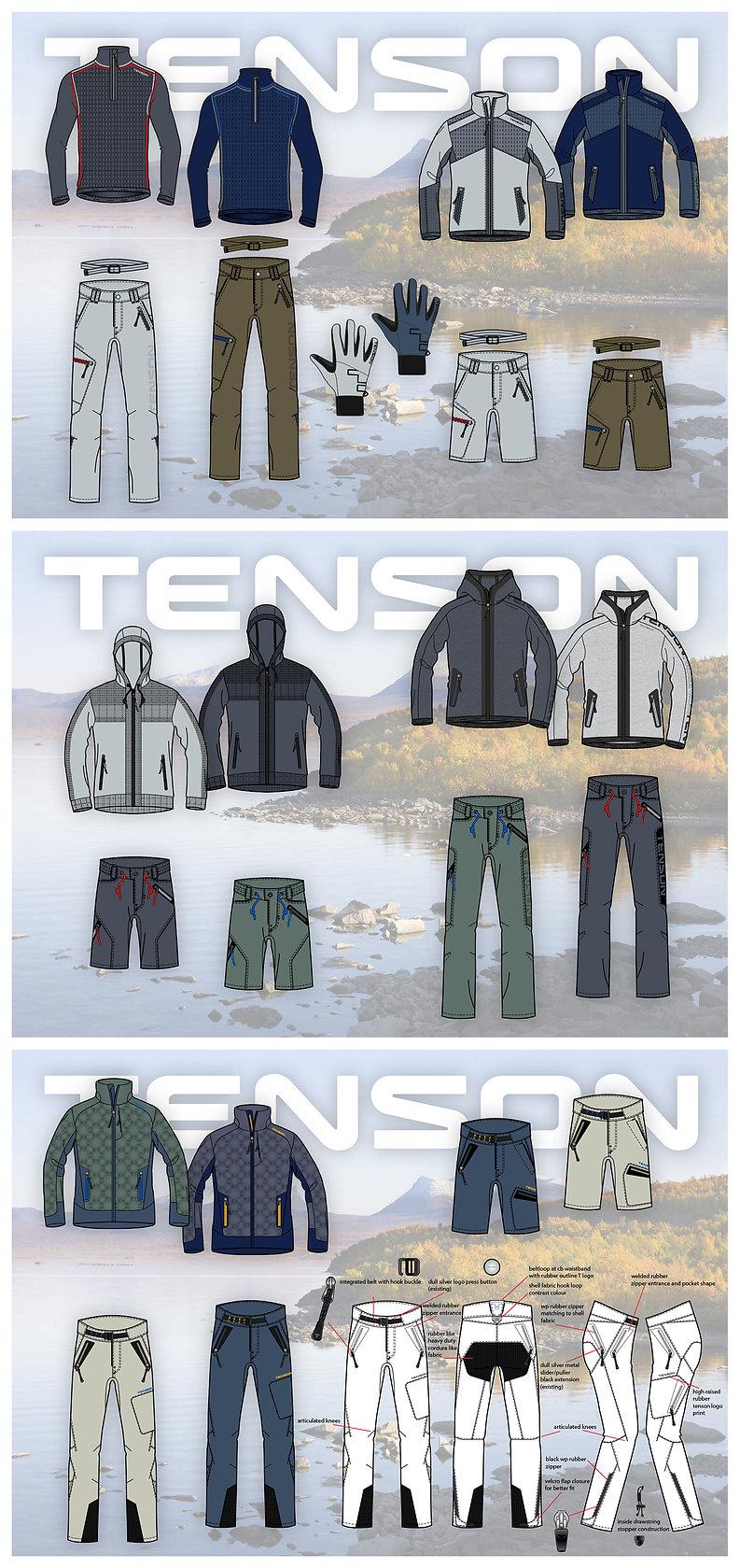 Men's Outdoor Tenson