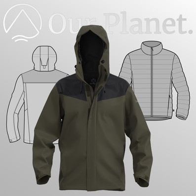 Our Planet Fall Winter 2020 Outdoor Apparel Collection