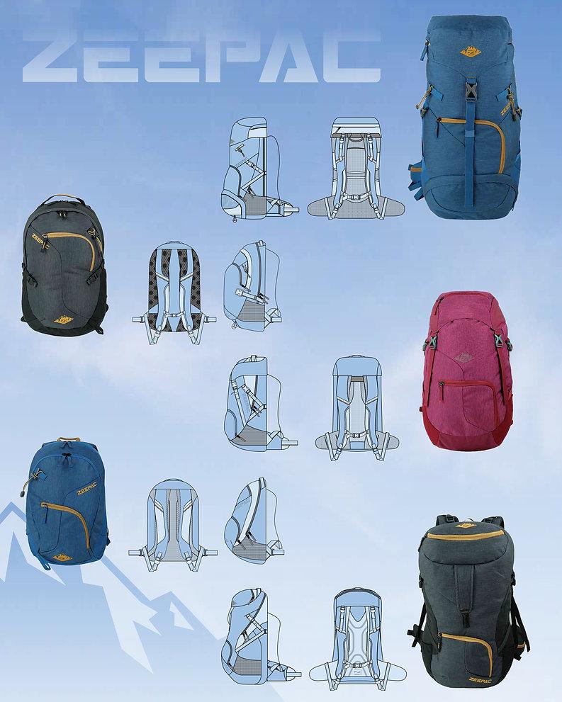 Backpacks Zeepac