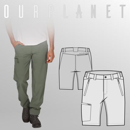 Our Planet Spring Summer 2020 Outdoor Apparel Collection Men
