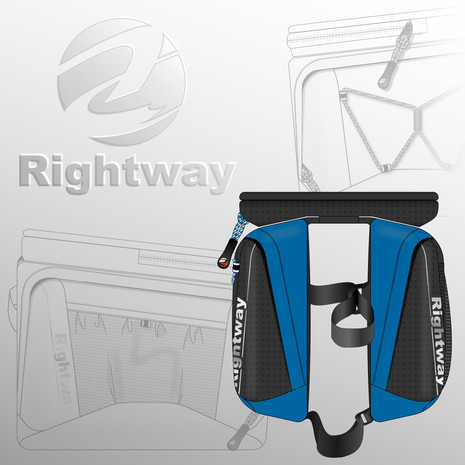 Rightway Cycling Double Frame Bag