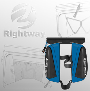 Rightway Cycle Double Frame Bag
