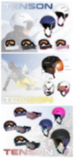 Ski Helmets & Masks Tenson