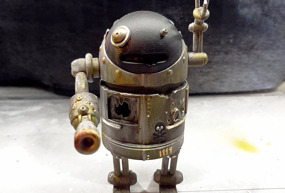 Julius V.01 Custom Resin Toy