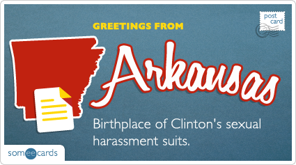 Someecards- Arkansas Postcard