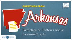 Someecards- Arkansas Postcard