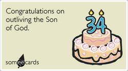 Someecards- Jesus Birthday