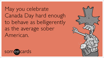 Someecards- Canada Day