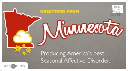 Someecards- Minnesota Postcard