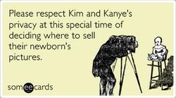 Someecards- Kim and Kanye
