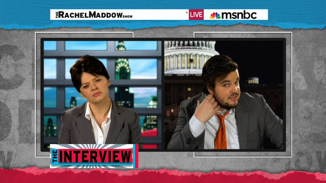Rachel Maddow Grills Local Politician