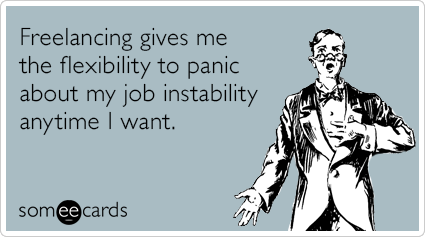 Someecards- Freelancing