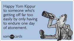 Someecards- Yom Kippur