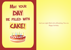 rejected birthday cards