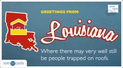 Someecards- Louisiana Postcard