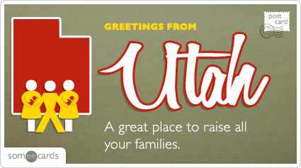 Someecards- Utah Postcard