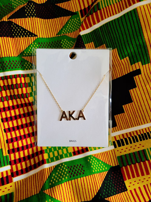 AKA Necklace