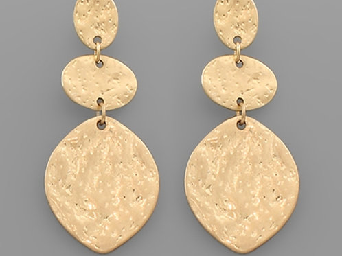 Hammered Drops Earrings