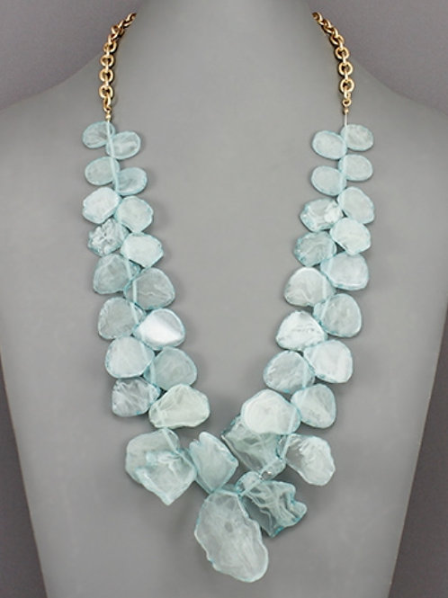 Mint Acrylic Necklace