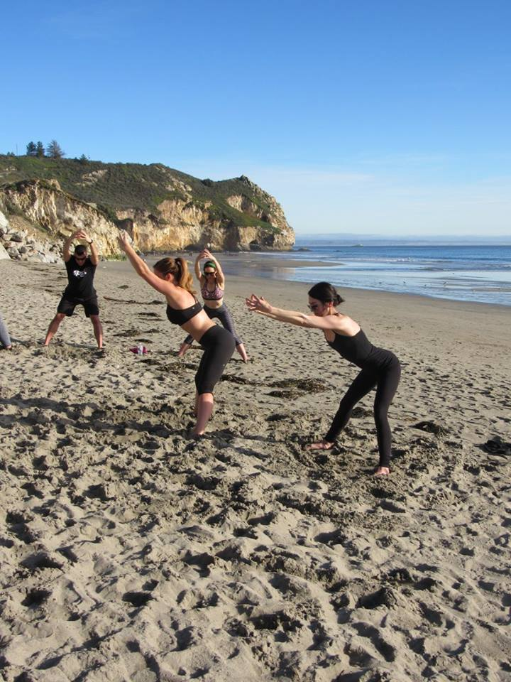 Foundation Training at Avila Beach