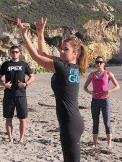 Foundation Training at Avila Beach