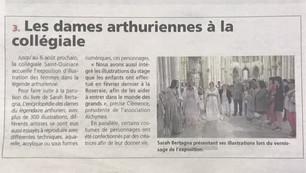 Article dans la République en Seine et Marne.