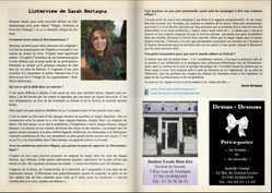 Interview de Sarah Bertagna, pour le Dormantastique 2018.