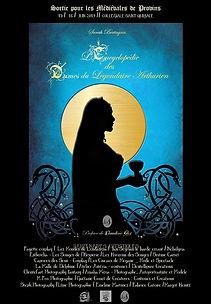 L'encyclopédie des dames du légendaire arthurien. De Sarah Bertagna.